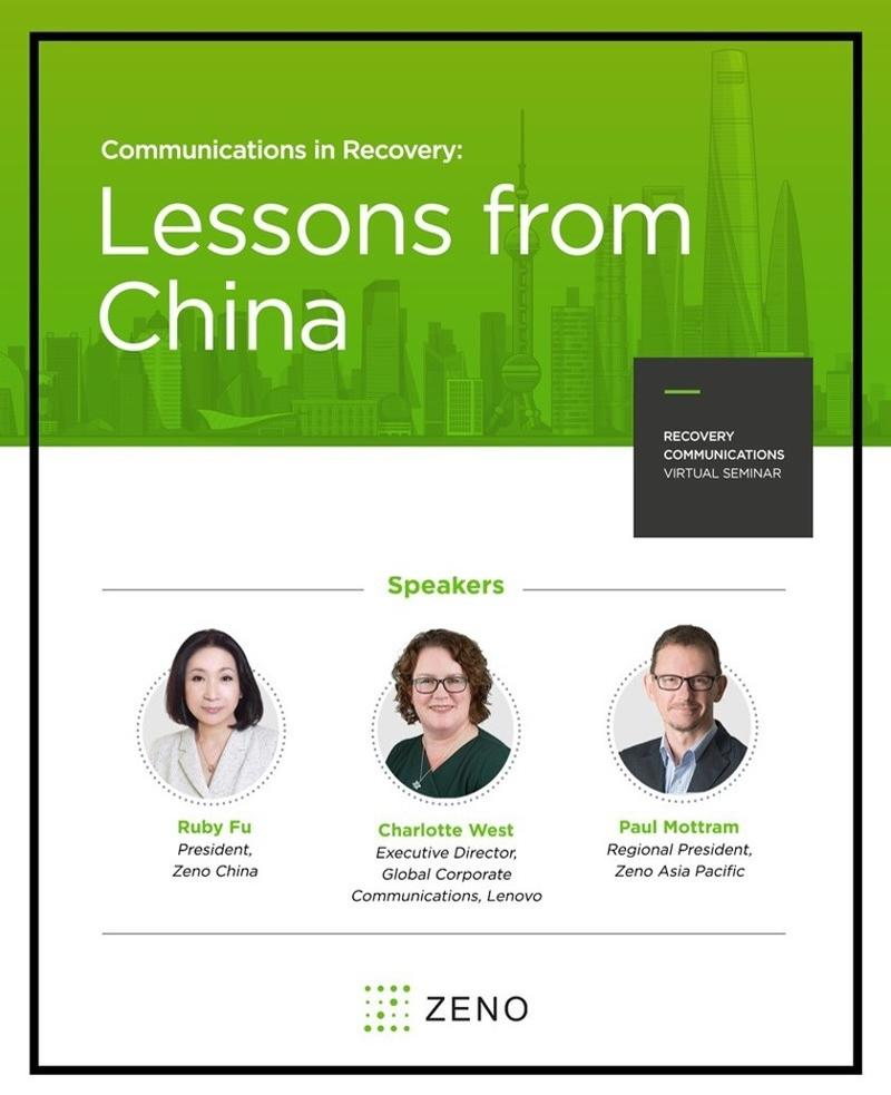 Lessons from China and Speakers