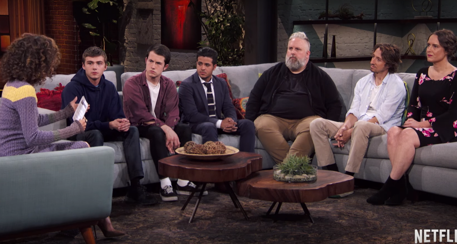 Netflix 13 Reasons Why discussion with the cast