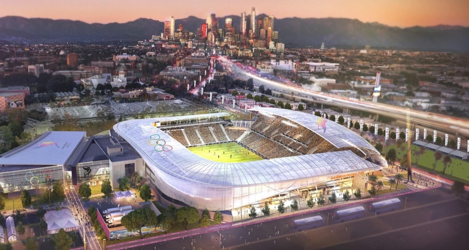 Image of the Banc of California Stadium